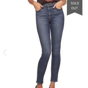 Reformation High & Skinny Jeans havana wash 29